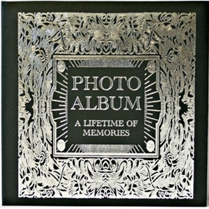 "Fotoalbum ""A Lifetime of Memories"" Black"