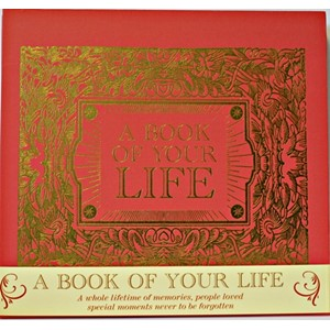 "Fotoalbum ""A Book of Your Life"" Red"