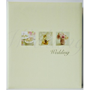 "Fotoalbum ""Pearl Wedding - Rose Design"" Trad"