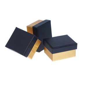 """Black/Gold"", Mini Box"
