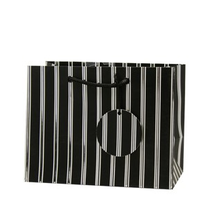 """Chic Stripe"", Gavepose medium sort"