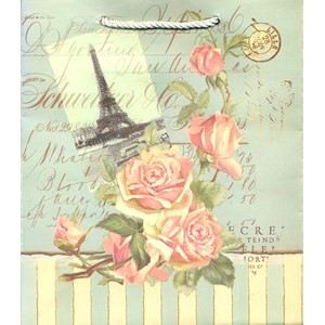 """French Chic"" Gavepose small, 2 assortert"