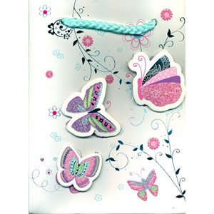 """3 D Butterfly"" Gavepose small"
