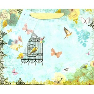 """Postal & Birdcage"", Gavepose small, 2 assortert"