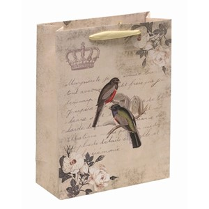 """Vintage Birds"", Gavepose small"