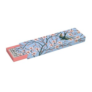 """Almond Blossom and Swallow"", Pencil Box, 6"