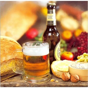 Beer, Cheese and Grapes