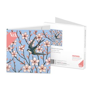 """Walter Crane - Almond Blossom"" Notecards (8"