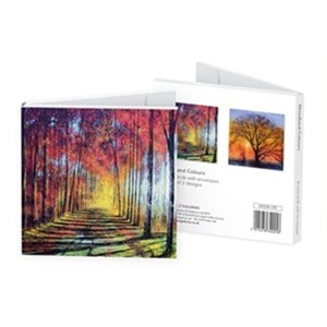"""Woodland Colours"" Notecards (8/8), 2 assortert"