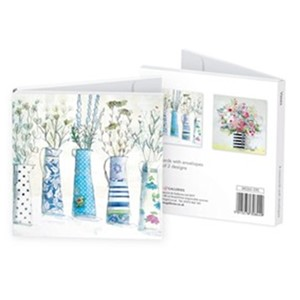 """Vases"" Notecards (8/8), 2 assortert"