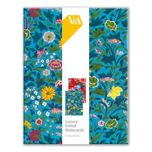"""Chinese Florals"" Luxury Notecards (16/16), 2 assortert"