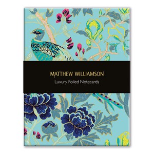 """Birds & Blossom"" Luxury Notecards (16/16), 2 assortert"