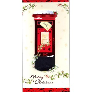 """Postbox & Front Door"", 8 Luxury Christmas C"