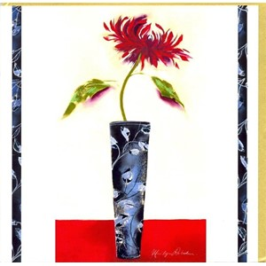 """Red Chrysanthemum"", The Marilyn Robertson"