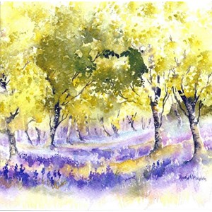 """Bluebell Wood"", Art by Rachel"