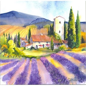 """Lavender Field"", Art by Rachel"