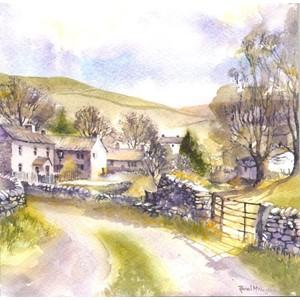 """Dales Village"", Art by Rachel"