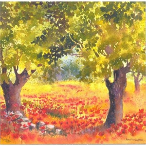 """Poppy Glade"", Art by Rachel"