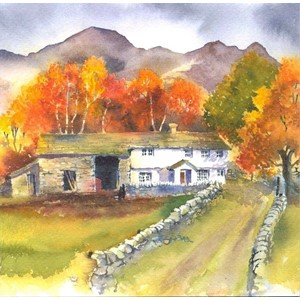 """Autumn in the Fells"", Art by Rachel"