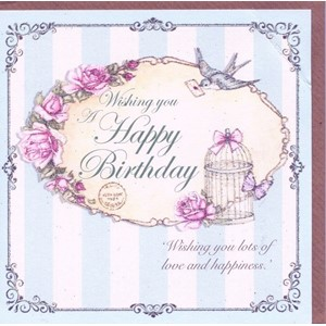 """Wishing You Happy Birthday - Swallow and Letter{[qu"