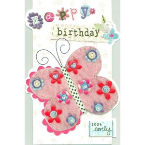 """Butterfly"", Sew & Sew Card"
