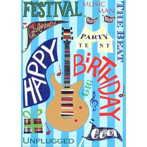 """Music Festival"", Unsigned Card"