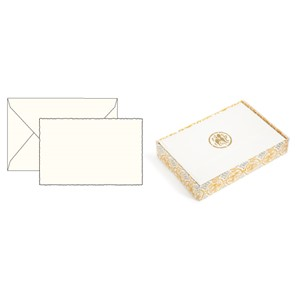 "Kortpakke ""Social Stationery - Cream"" 10/10, 8,5 x 13 cm"