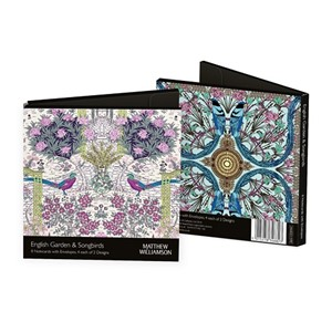 """Matthew Williamson - English Garden & Songbirds""  Notecards"