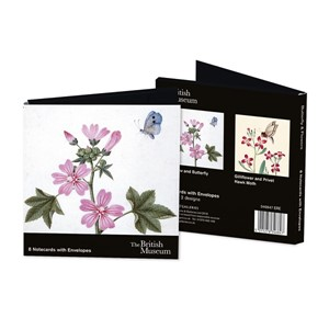 """British Museum - Butterfly & Flowers"" Notecards (8/8)"