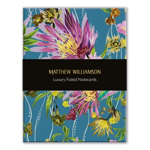 """Floral Blooms"" Luxury Foiled Notecards, 2 ass (16/16)"