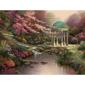 """Garden Serenity"" Assorted Boxed Note Cards 12/12"