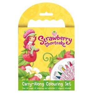 """Strawberry Shortcake"" Carry-Along Colouring"