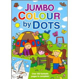 """Colour by Dots"" Jumbo Colouring Book"