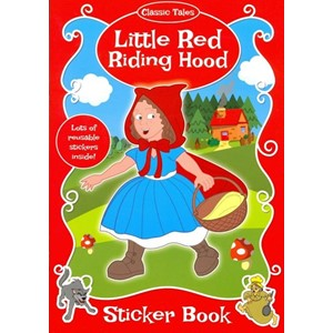 "Classic Tales Sticker Book ""Little Red Riding Hood"""