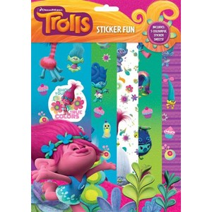 """Trolls"" Sticker Fun"