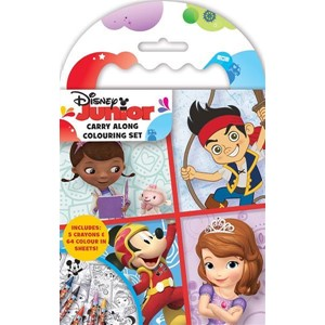 """Disney Junior"" Carry-Along Colouring Set"