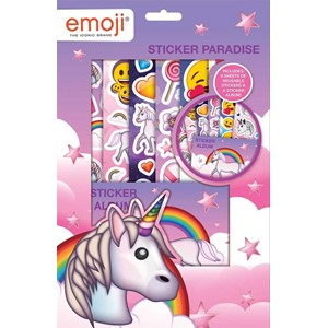 """Emoji Unicorn"" Sticker Paradise"