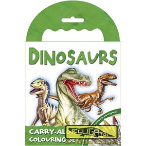 """Dinosaur"" Carry-Along Colouring Set"