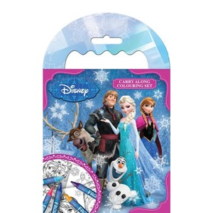 """Frozen"" Carry Along Colouring Set"