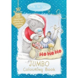 """Me to You Christmas"" Jumbo Colouring Book"