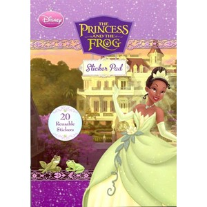 """The Princess and the Frog"", Sticker Pad"
