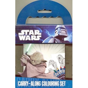 """Star Wars"" Carry Along Colouring Set"