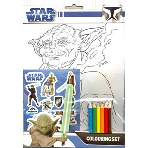 """Star Wars"" Colouring Set"