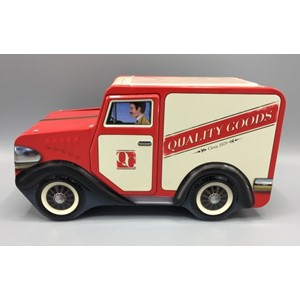 """Small Delivery Van Red"""