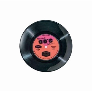 """Hits of the 80's"" Melamine Single 7"""