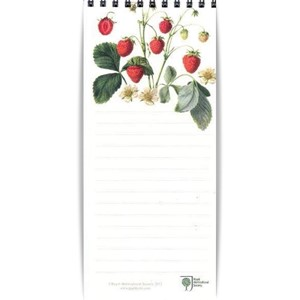 "Magnetic Shopping List ""RHS Strawberries"", 7"