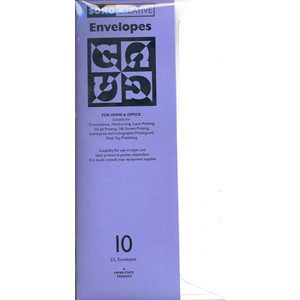 """Hammer Envelopes - Brilliant"", E6/5, 10 stk"