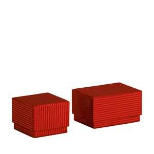 """Classico - Red Stripes"" 2 + 2 mini esker"