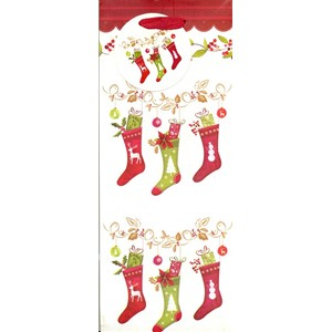 """Christmas Stockings"", Flaskepose"