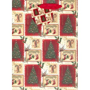 """Christmas Postage Stamps"", Gavepose large"